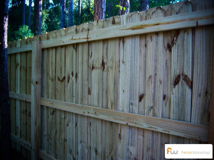 Weathered Wood Privacy Fence Vinyl Privacy Fence Wood