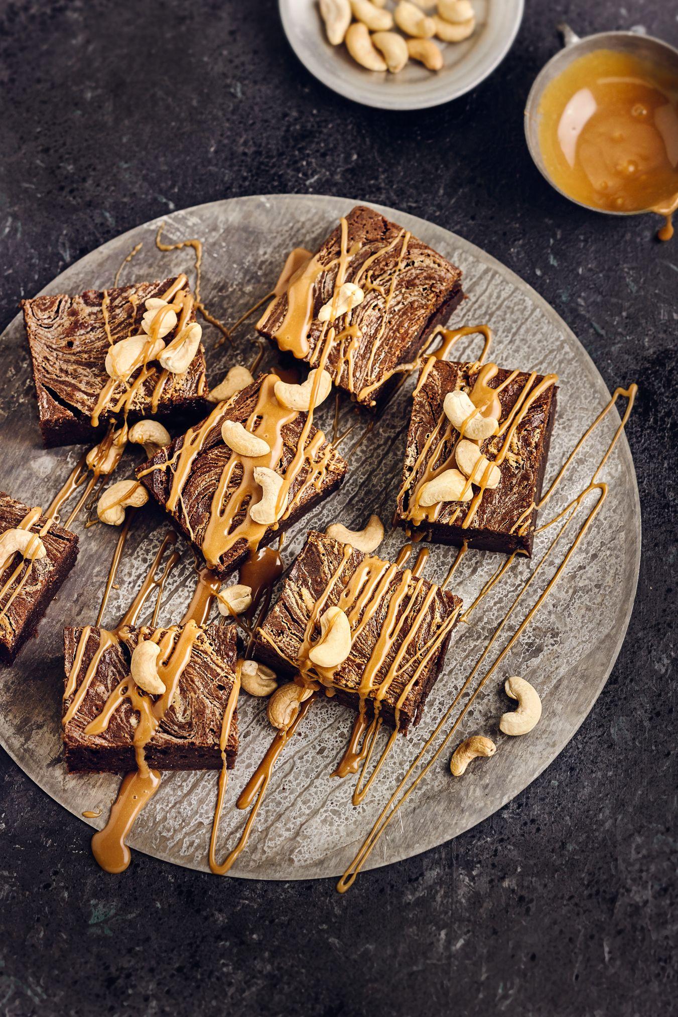 Cashewkuchen Mit Karamell Rezept Sweet Browns Pinterest