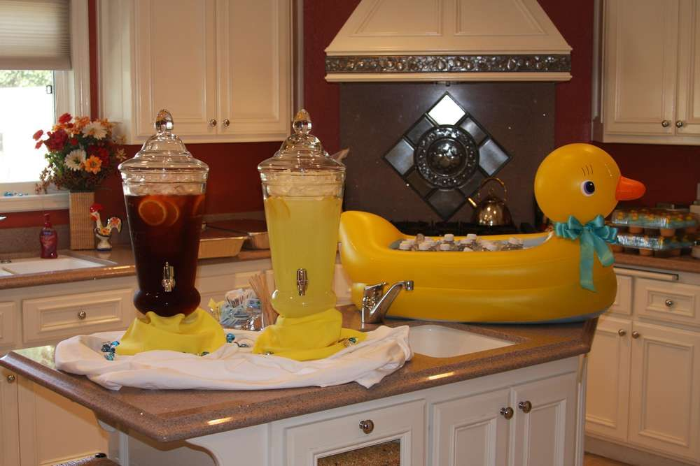 Rubber Ducks Baby Shower Party Ideas | Duck baby showers, Babies and ...