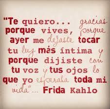 Poemas De Amor Frida Kahlo Buscar Con Google Mios Pinterest