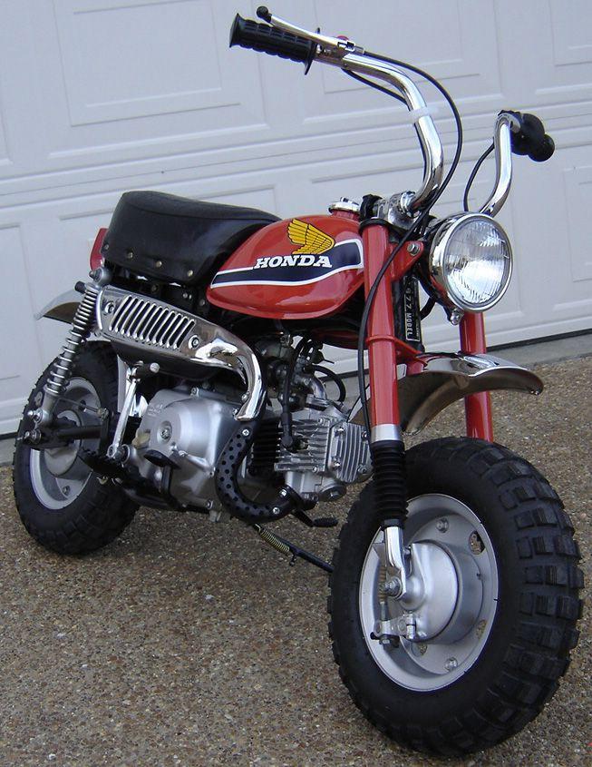 1977 Honda Z 50 Honda Motorcycles Honda Mini Bike