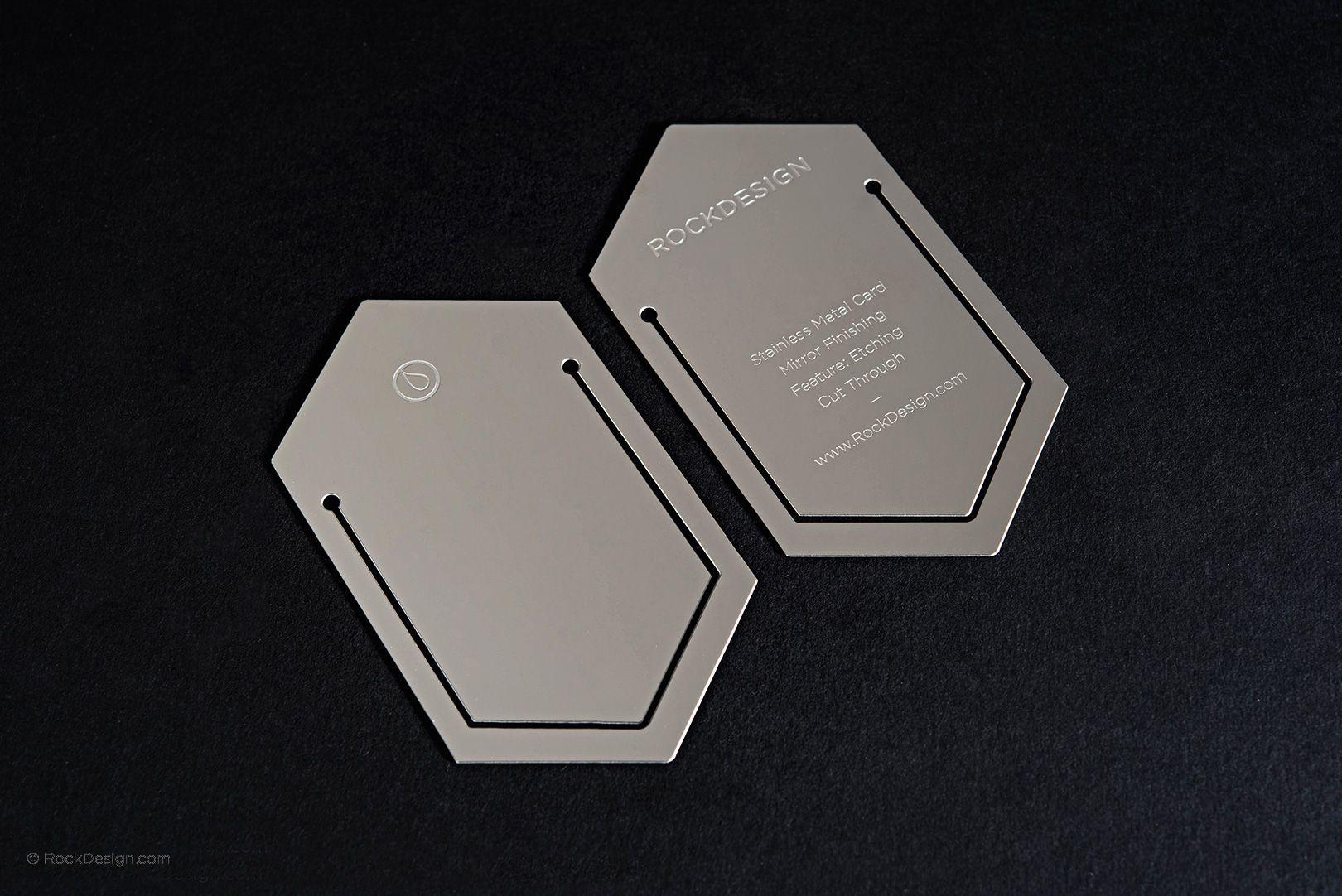 High End Stainless Steel Bookmark Business Card Rock Design Rockdesign Luxury Bu Printing Business Cards Luxury Business Cards Graphic Design Business Card