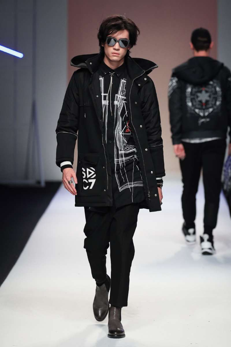7CRASH Fall-Winter 2017 - Shanghai Fashion Week