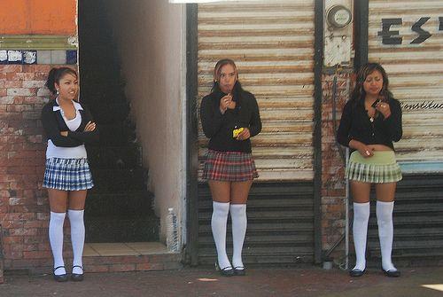 Tijuana street whores