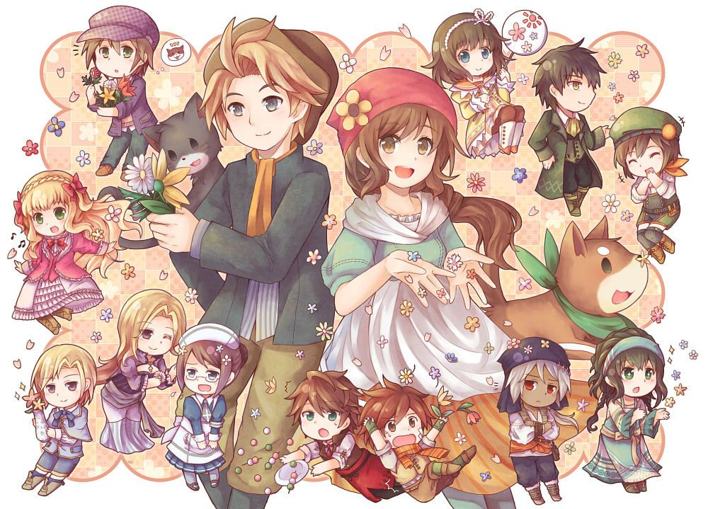 Story of Seasons Harvest moon game, Harvest moon, Cute games