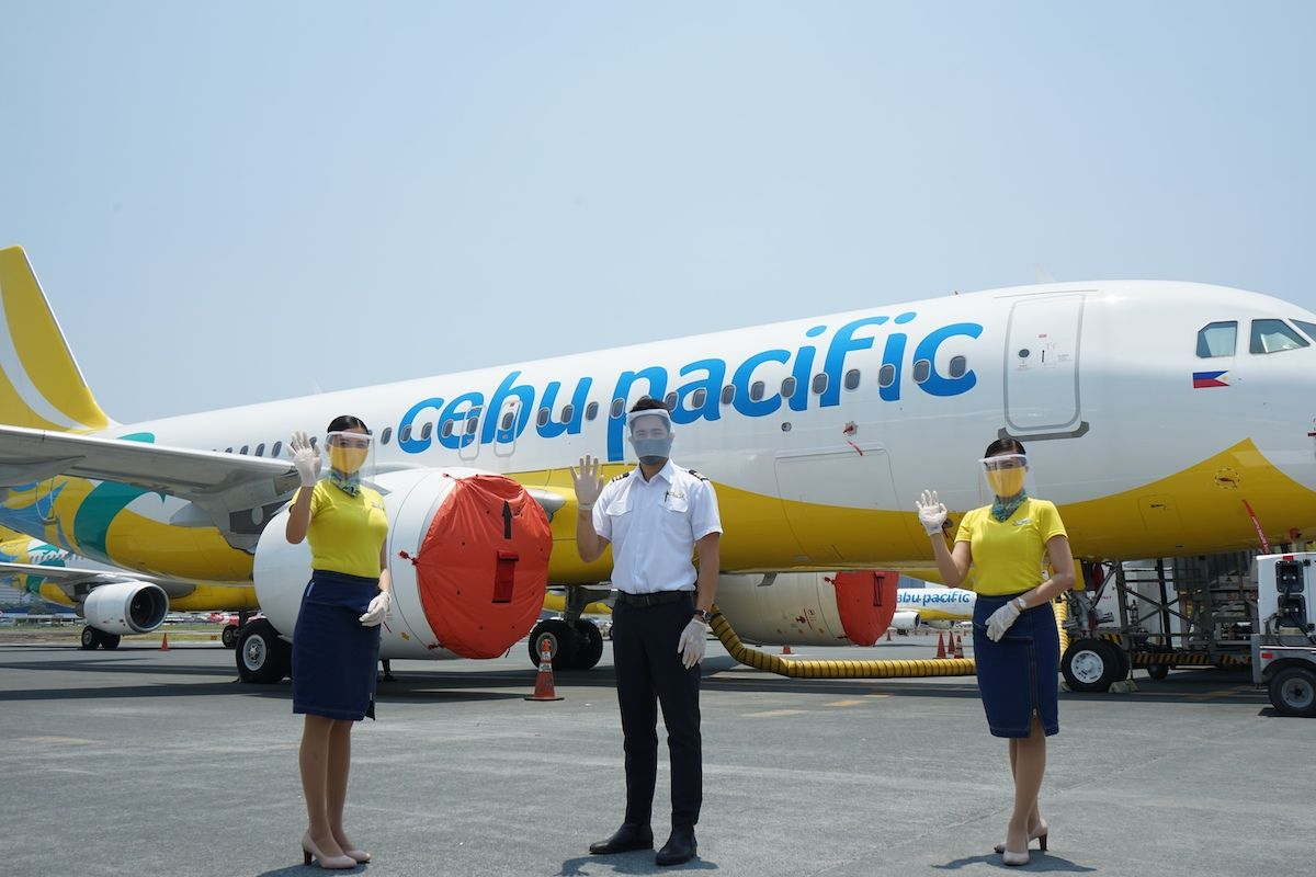 Cebu Pacific Advisory CEB Resumes ManilaDubaiManila