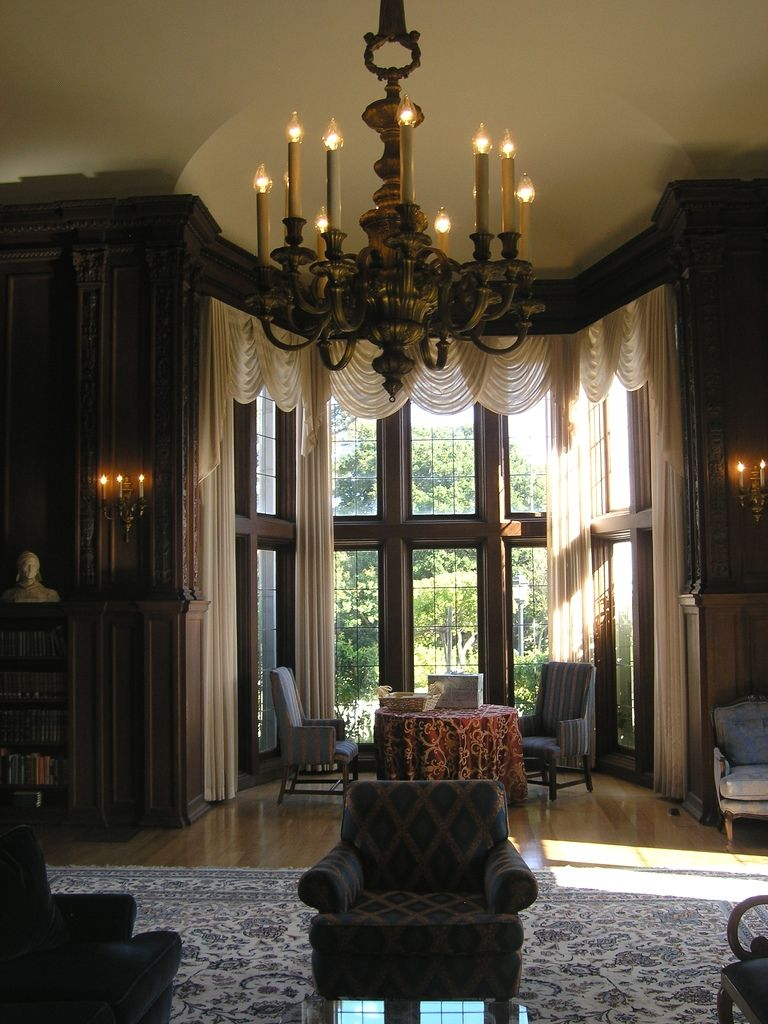 Old Tudor Mansion Interior