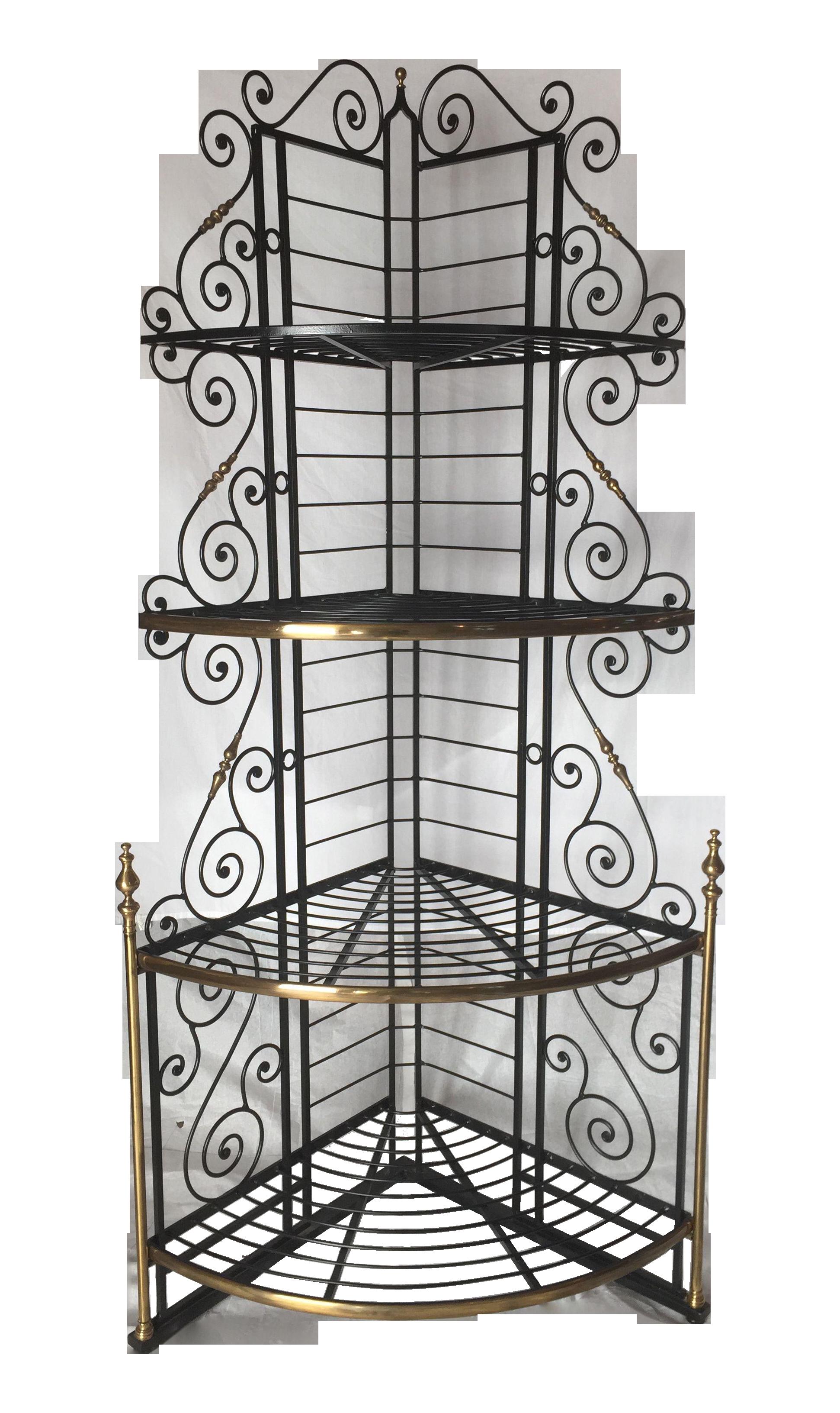 Vintage French Brass Loft Decor French Vintage Wrought Iron Gates