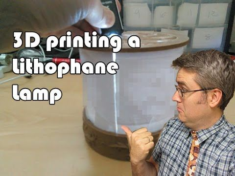 3D Printed Project - Creating a Lithophane with CURA