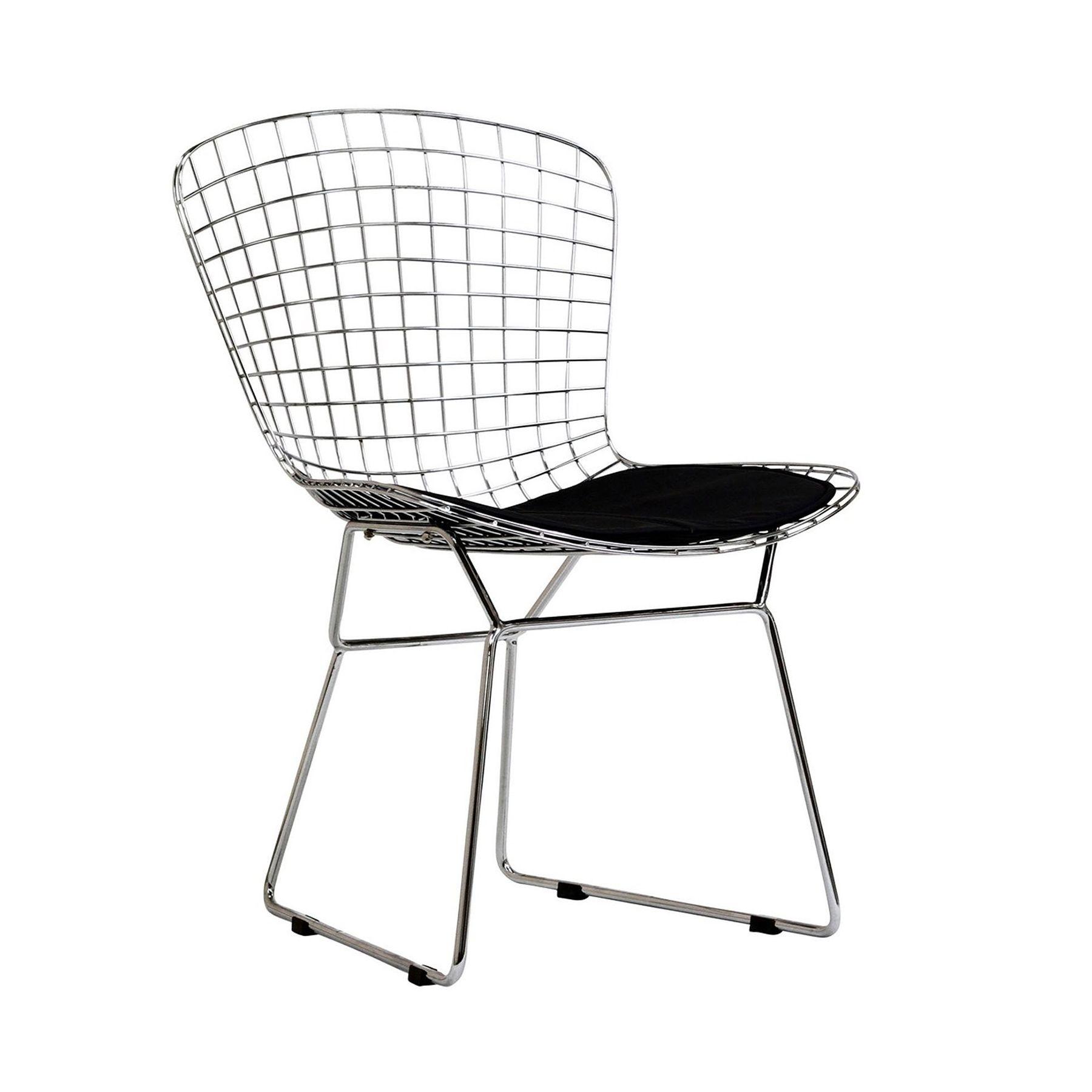 Bertoia diamond chair dimensions - Design Icons The Diamond Chair