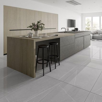 Floor Tiles Stone Floor Tiles Tile Giant Kitchen Cabinets Painted Grey Kitchen Flooring Modern Grey Kitchen