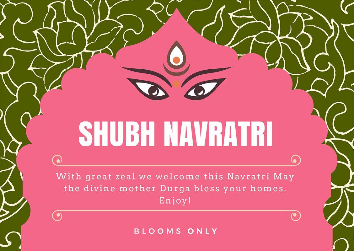 Wish You Happy Navratri 2017 To All Happynavratri Bloomsonly