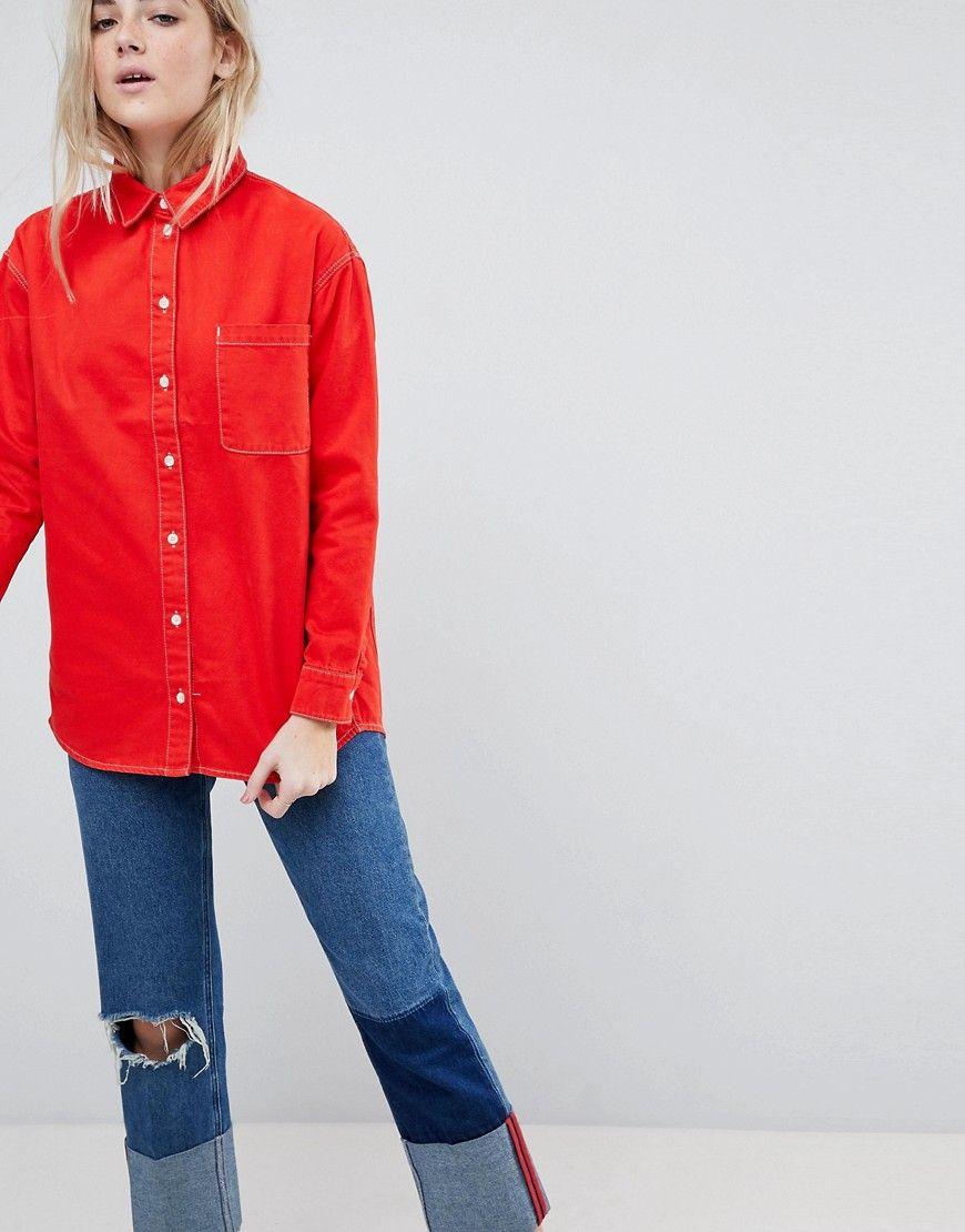 Oversize jeansjacke damen asos