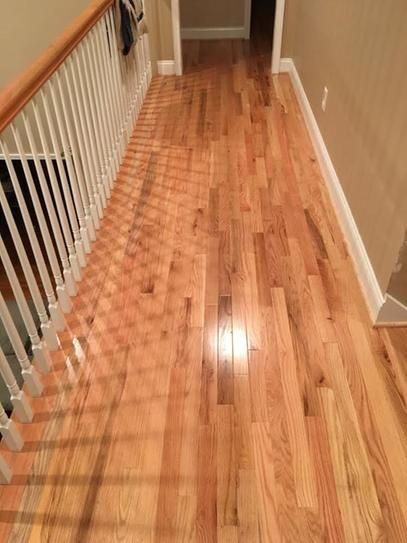 Blue Ridge Hardwood Flooring Red Oak Natural 34 In Thick X 2 14