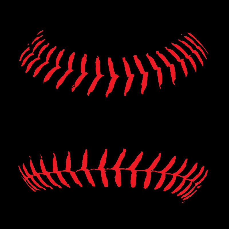 Softball vector. Clip art download free