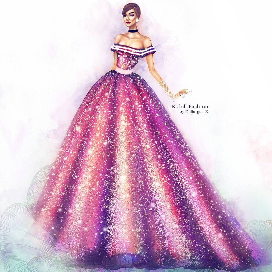 2,540 Likes, 52 Comments - Haute Couture Illustrator ...