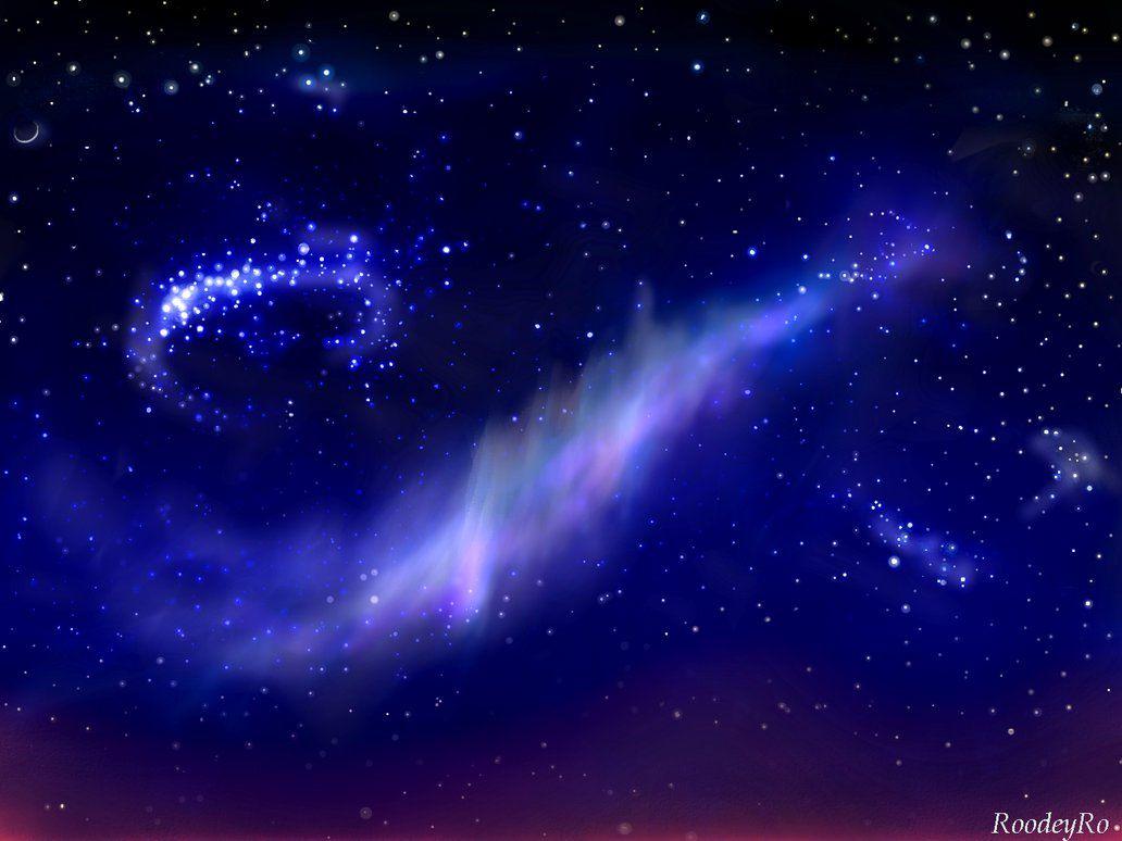 North light by RoodeyRo #night #sky #space #starry #starrysky #stars #polarlight #digitalart #painttoolsai #beautifulpictures #northernlightslights