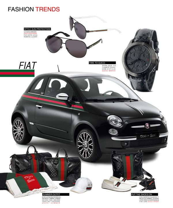 Propuesta Fiat Gucci By Joel Rojas Matias Via Behance With