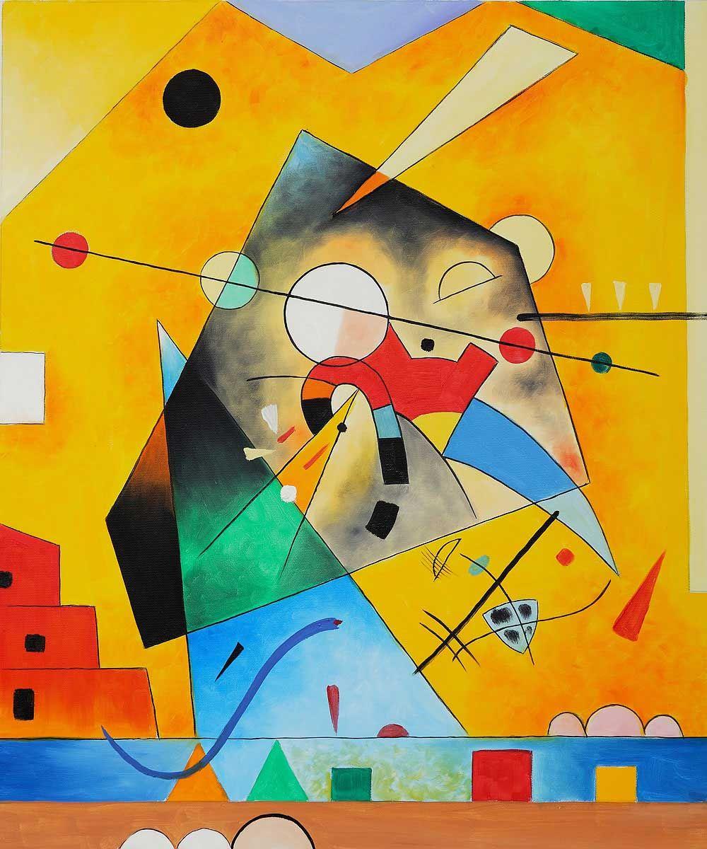 Kandinsky | Lo Spirito dei colori | Kandinsky, Pittura astratta, Arte  astratta moderna