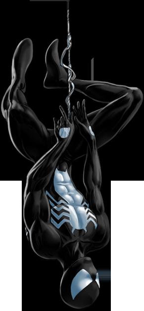 Black Suit Spider Man Marvel Comics Heroes Marvel Marvel