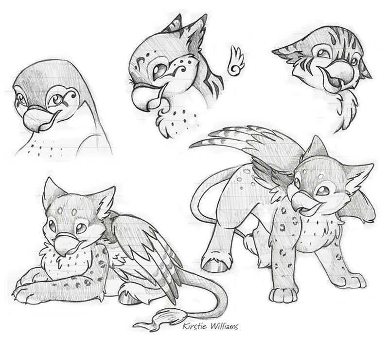 Hippogriff Doodles by deeed | Tattoo ideas | Art, Griffin ...