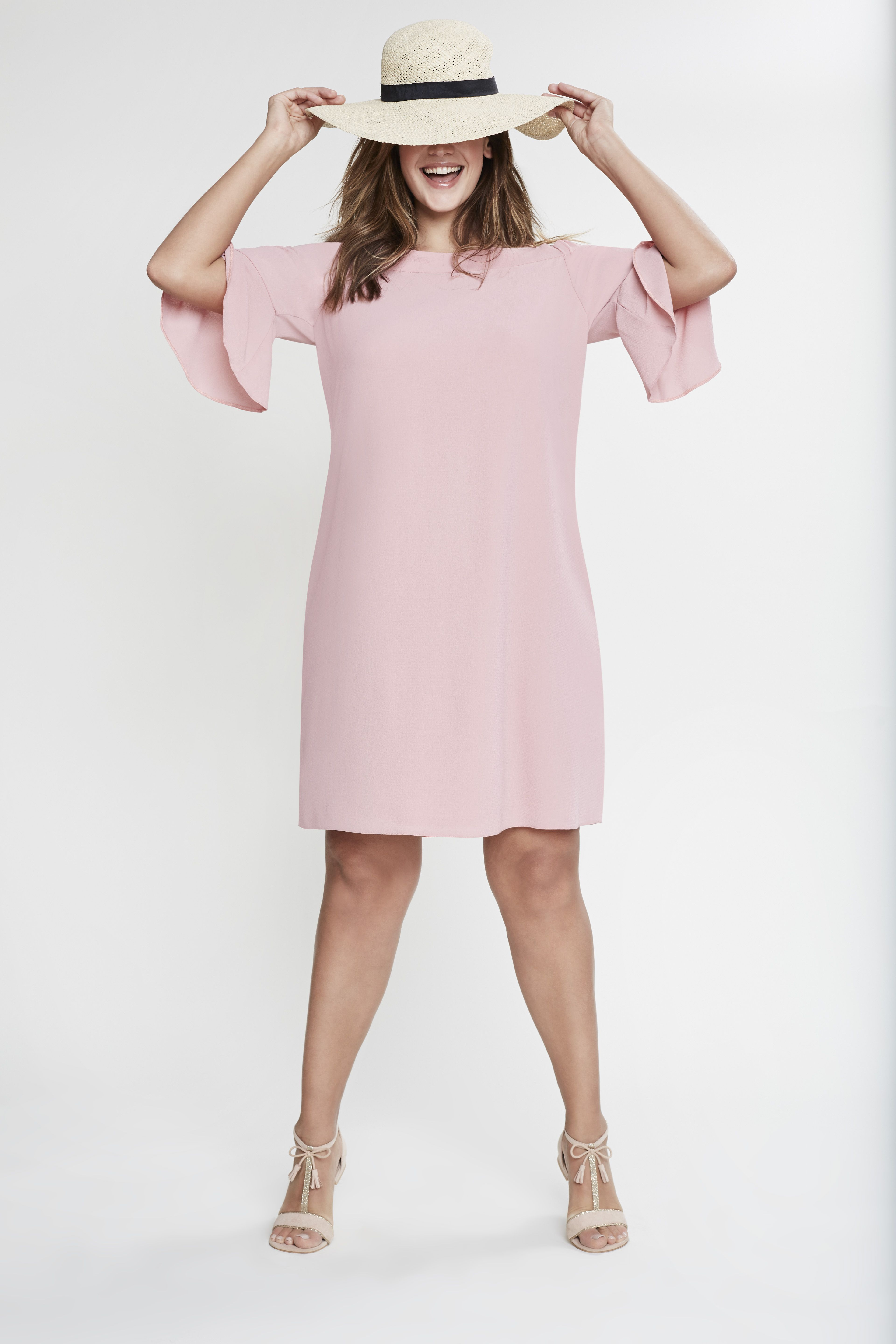 Pink cut out dress kim kardashian  Our Pink Cold Shoulder Dress is the perfect centre court outfit