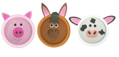 Arts u0026 Crafts- Farms- Farm Animals (Paper Plates)  sc 1 st  Pinterest & Arts u0026 Crafts- Farms- Farm Animals (Paper Plates) | School- Arts ...