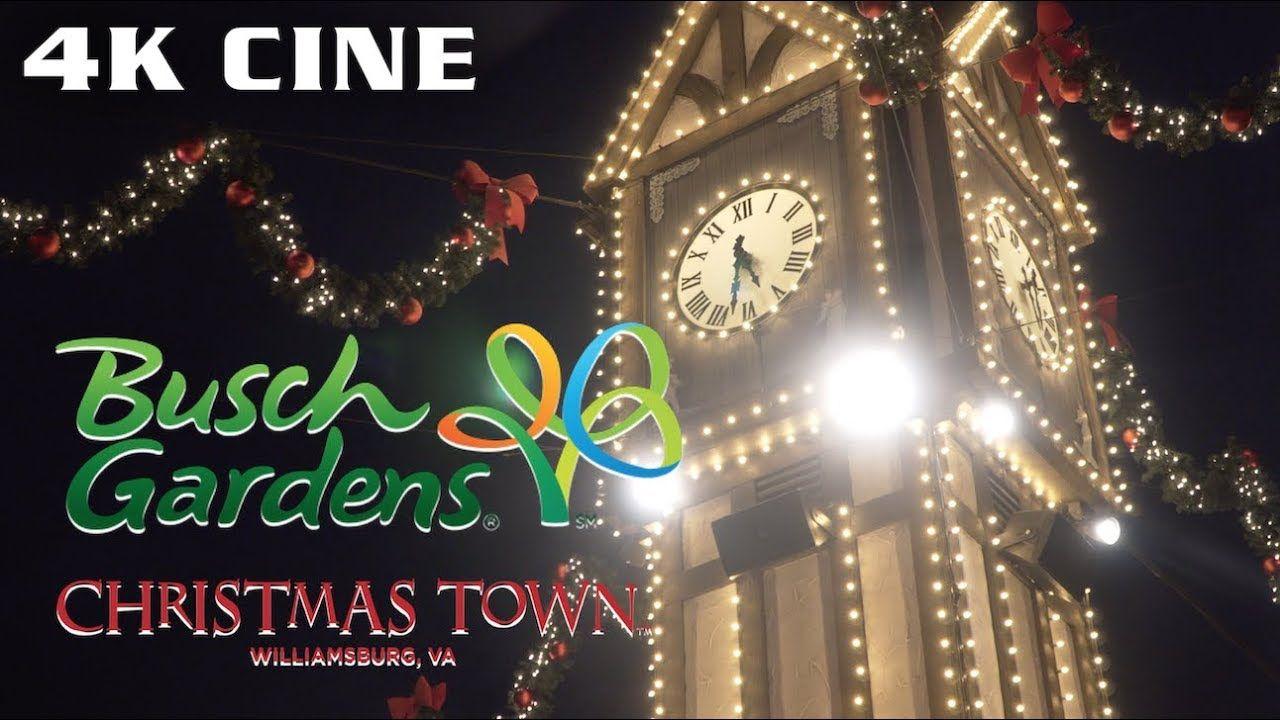 Cinematic Christmas Town Busch Gardens Williamsburg