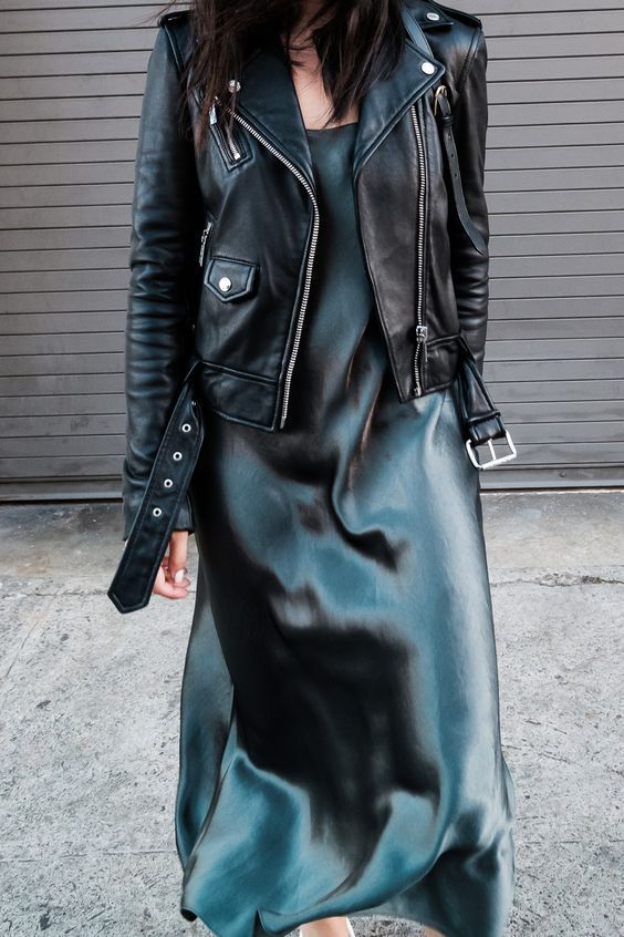 How To Wear A Satin Dress/Skirt In Everyday Life – Blog