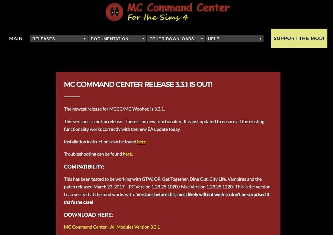 Mod] MC Command Center has a new download location + new update