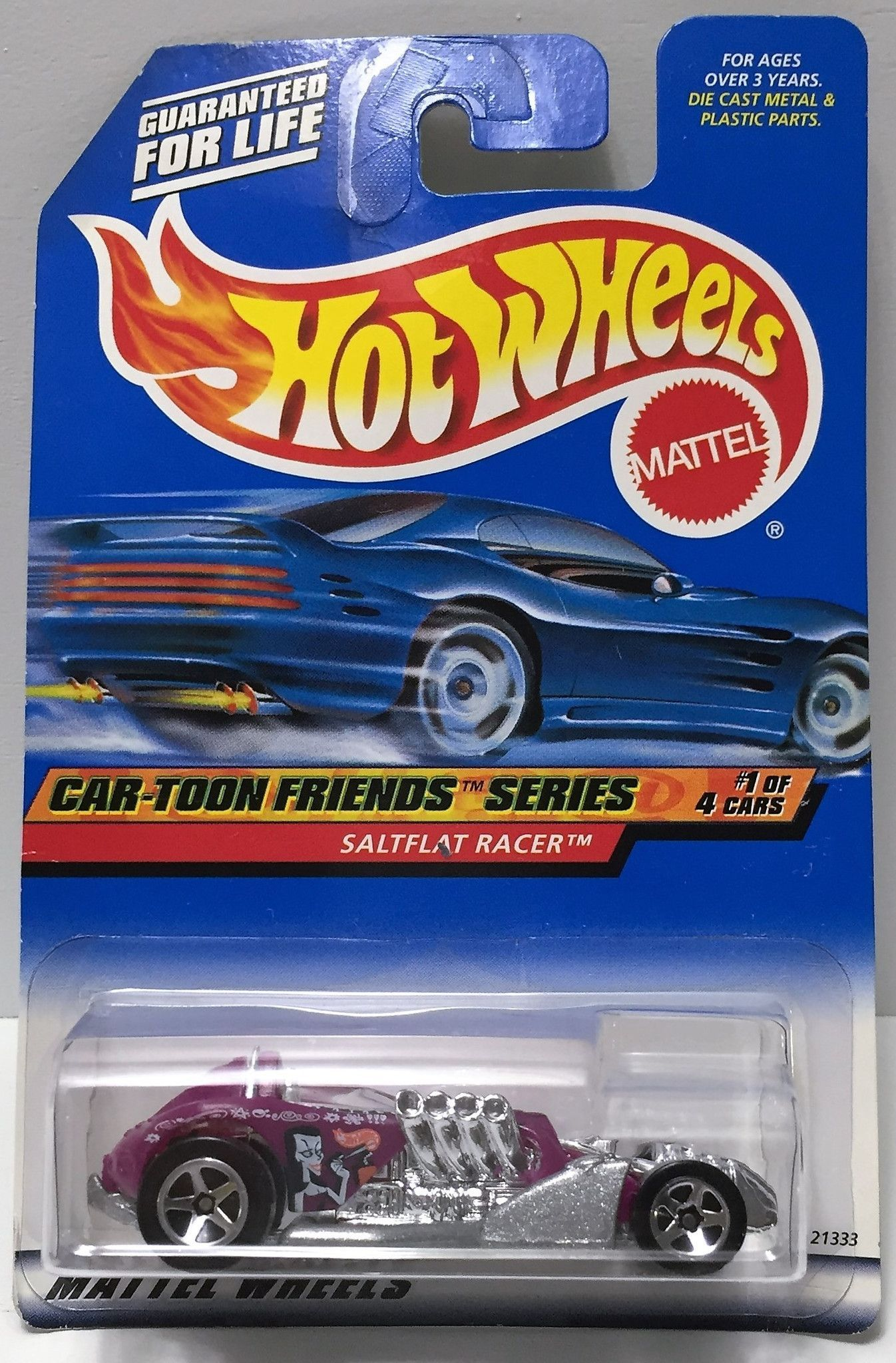 Hot Wheels Mercedes CLK-LM 1999 First Editions Silver