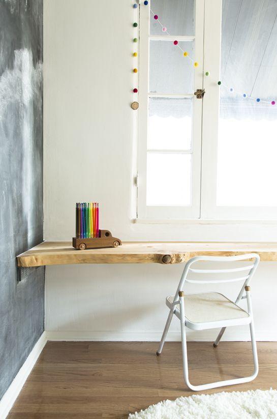 diy table calkboard kinderzimmer wohnideen pinterest kinderzimmer kinderzimmer ideen. Black Bedroom Furniture Sets. Home Design Ideas