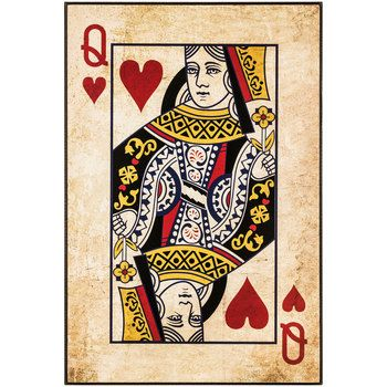 King And Queen Wall Decor king or queen playing card wall decor | playing cards, wall décor