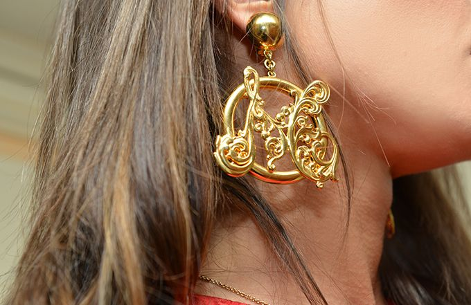 #moschino #jewels #earrings #gold #brand #griffe #chic #fashion #fashionblog