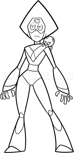 Peridot How To Draw Steven Universe Coloring Pages Steven Universe Coloring Pages Drawings
