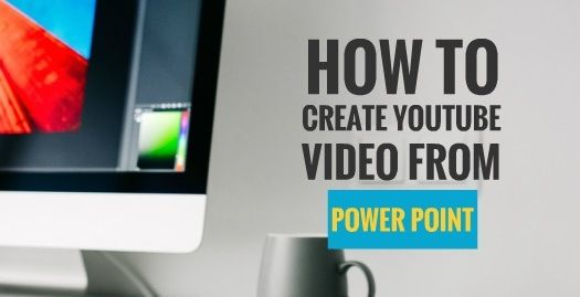 There are many simple ways you can actually create a video and immediately upload it to YouTube for sharing. One of the simple method is by converting your Microsoft power point slide into video. Below are the steps on how you can convert your slide into a video.