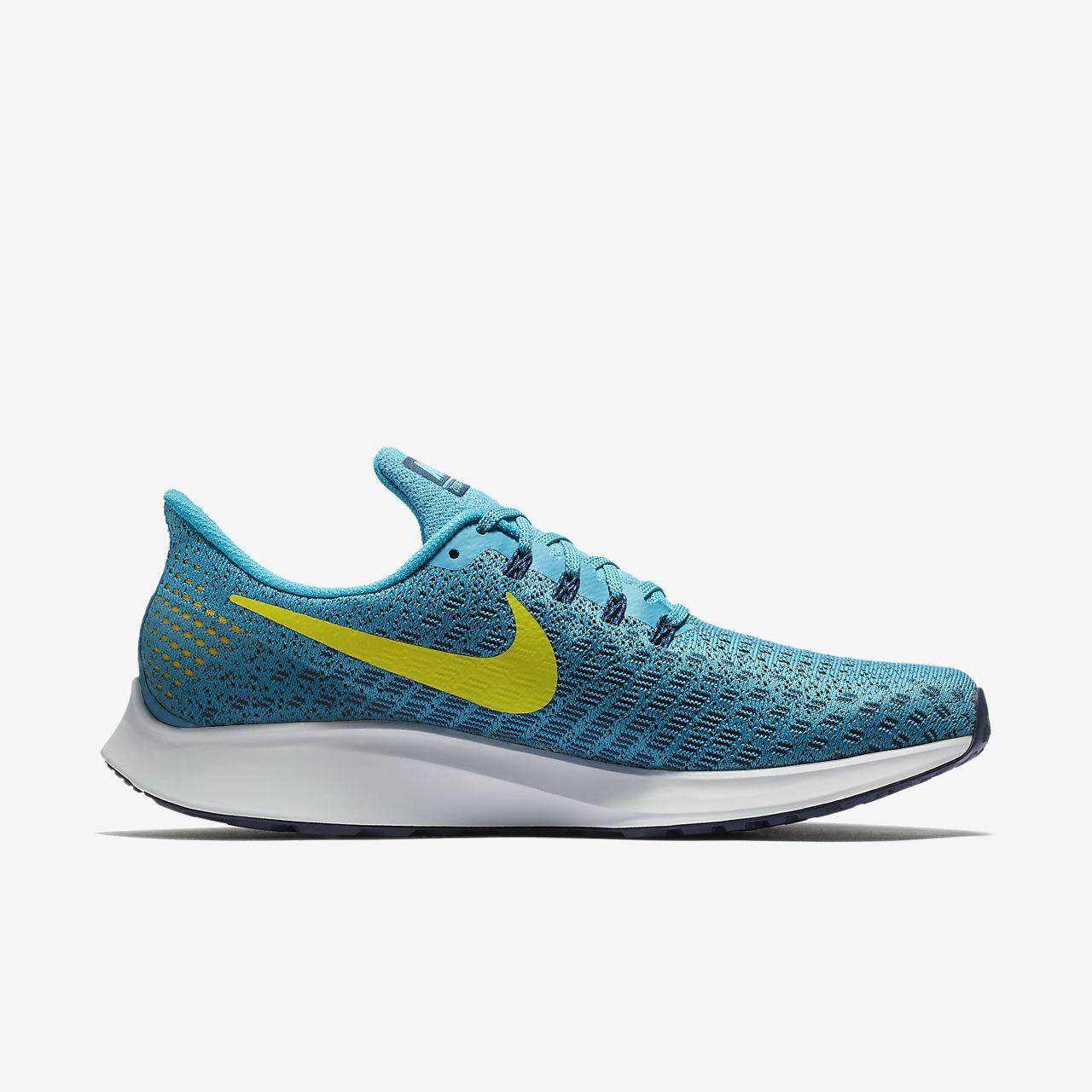 Nike Air Zoom Pegasus 35 Men's Running Shoe 12.5 Blue