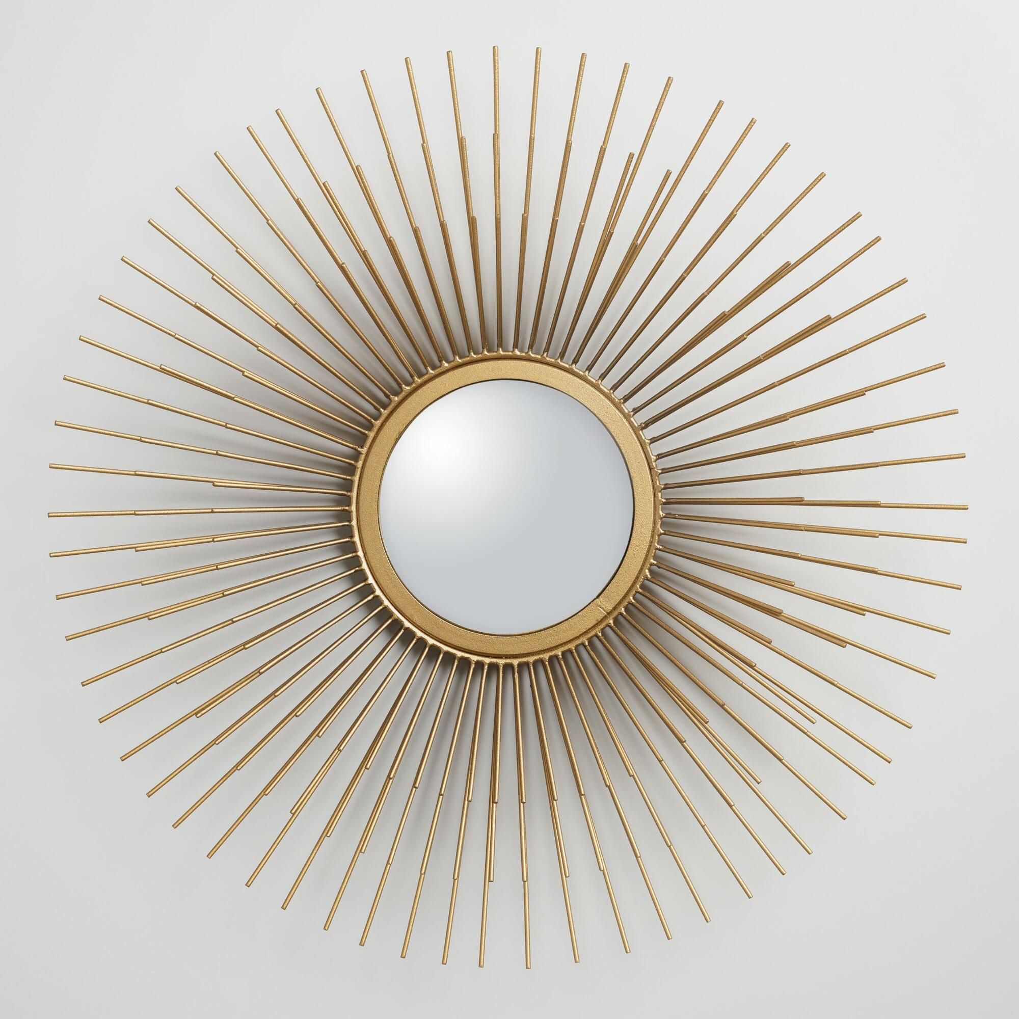 Bring bold mid-century modern style to a room with our mirror featuring  three layers
