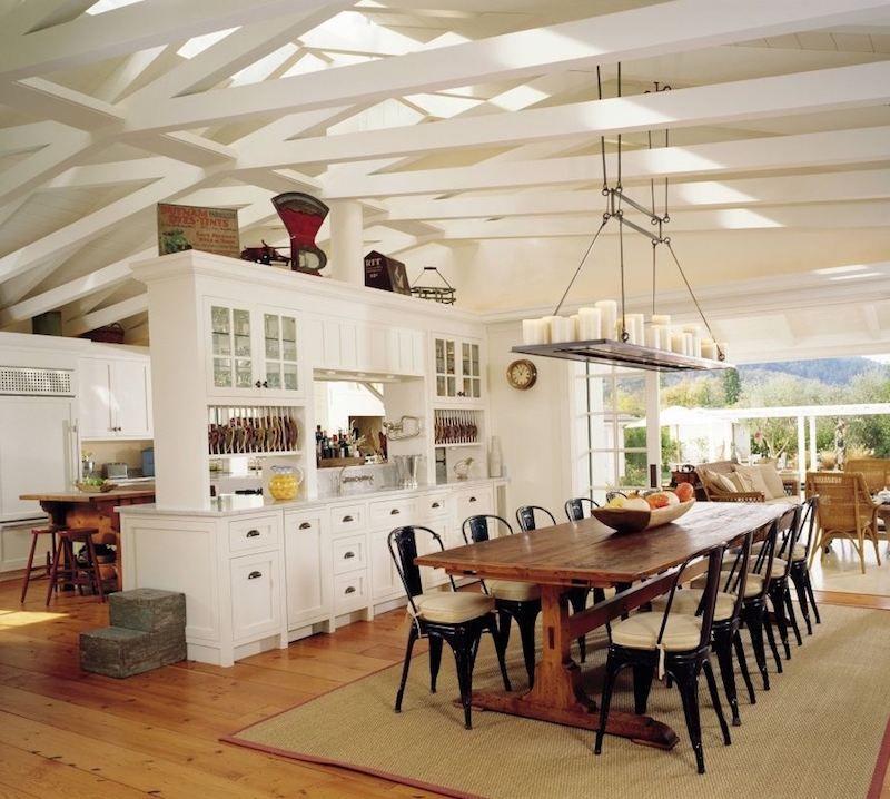 grande table manger en bois massif avec quelles chaises et d coration alex pinterest. Black Bedroom Furniture Sets. Home Design Ideas