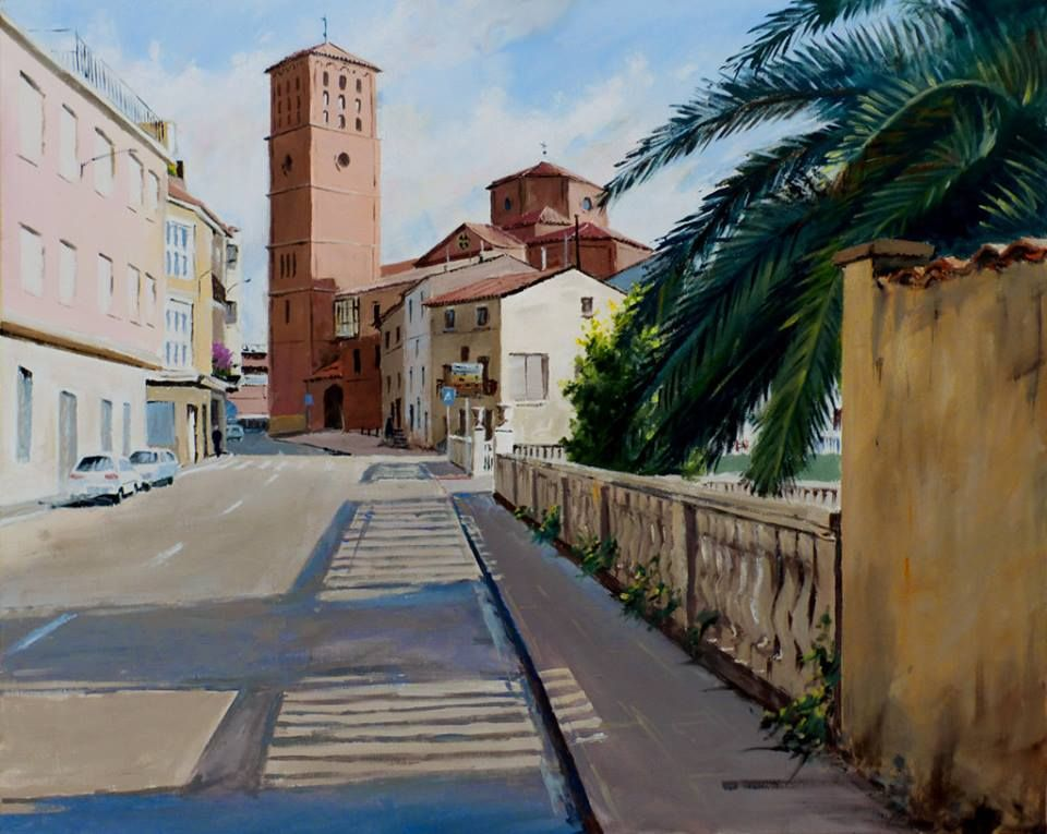 Segundo Premio Felix Flamarique Martinez Concurso De Pintura