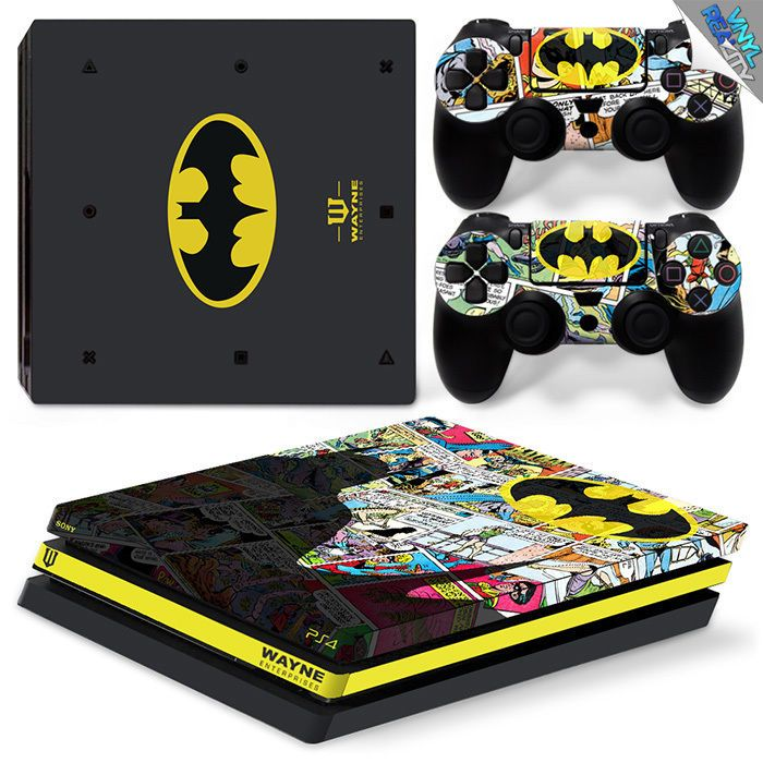 Batman Playstation 4 Pro Ps4 Skin Decal Wrap Vinyl Sticker