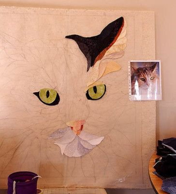 Pictorial Quilts With David Taylor | Embroidery & Applique Stuff ... : pictorial quilt tutorial - Adamdwight.com