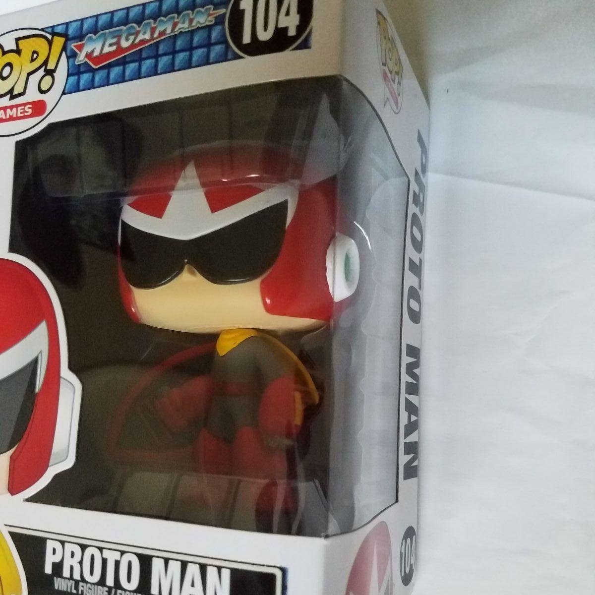 Mega Man POP Games Proto Man Vinyl Figure