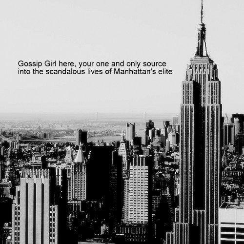 Gossip Girl | via Facebook on We Heart It