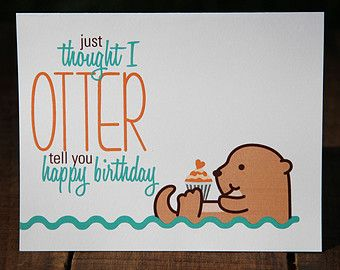Birthday Card Puns ~ Birthday card puns beautiful animal pun greeting cards rosie lou