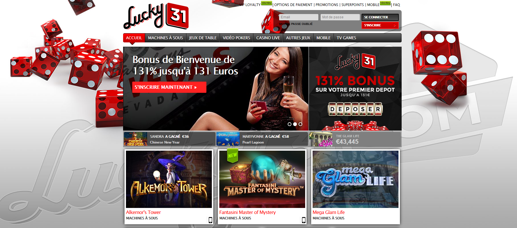 Casino en ligne mobile daniel gamez poker