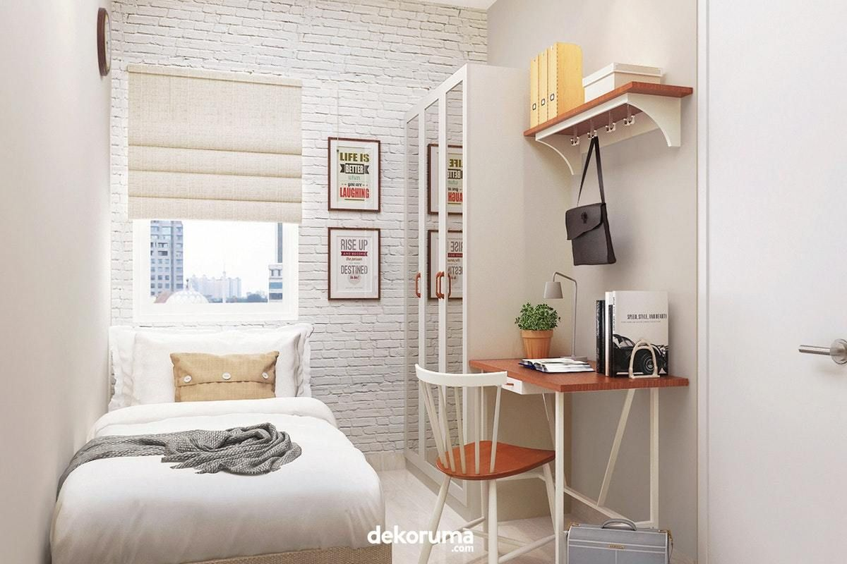 Desain Kamar Tidur Kecil Minimalis Sederhana   Cek Bahan Bangunan