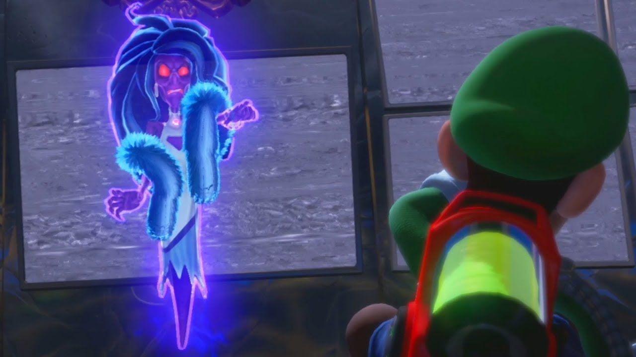 Luigi S Mansion 3 Helen Gravely Boss Fight Youtube