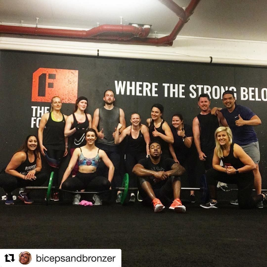REUNITED with bicepsandbronzer what a fab class and