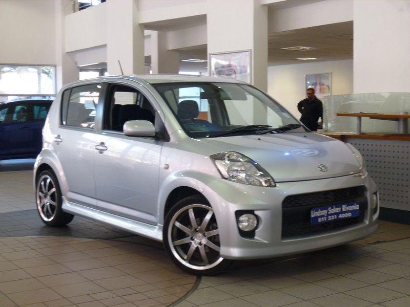 Silver Daihatsu Sirion Sport With Custom Wheels Dengan Gambar